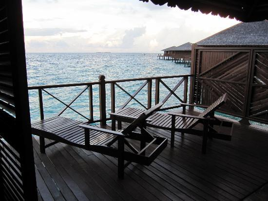 "Sipadan Water Village Resort: Il ""balconcino"""