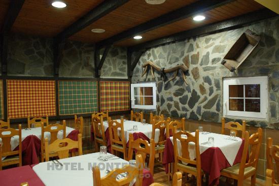 Hotel Montesol Arttyco: Comedor