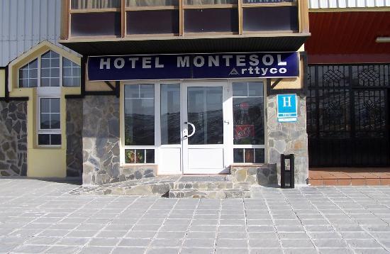 Hotel Montesol Arttyco : Fachada Hotel