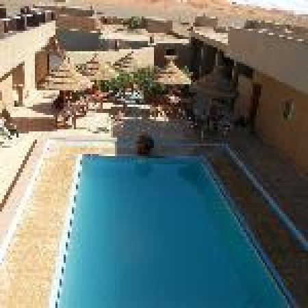 L'Homme Du Desert: relax on the roof terrace