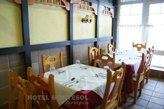 Hotel Montesol Arttyco : Comedor