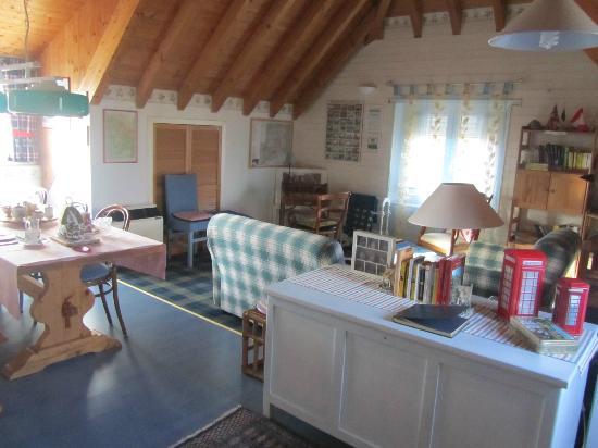 The Cottage B&B : Salottino/mansarda
