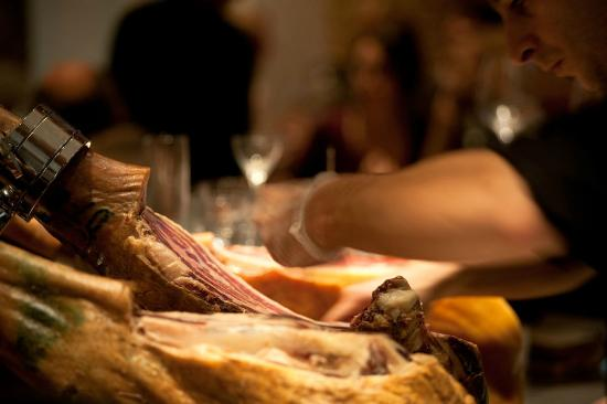 Angels & Gypsies: Jamon slicing