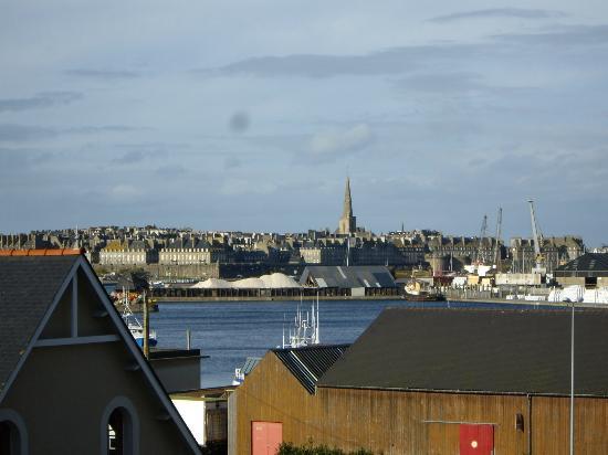 Pierre & Vacances Residence Ty Mat: Vue depuis la chambre sur St Malo