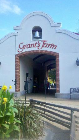 Grant's Farm: The old farm buildings (modernized)