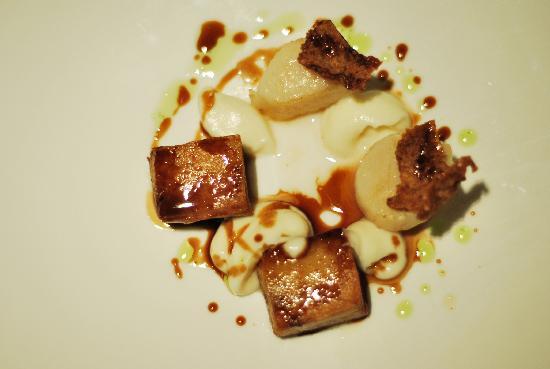 Sollun Restaurante - Pintada 23: panceta con vieiras