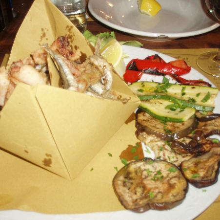 Locanda Fra Diavolo: Рыбное блюдо