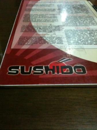 Sushido: cardápio !!!