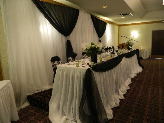 Ramada London: Wedding Table