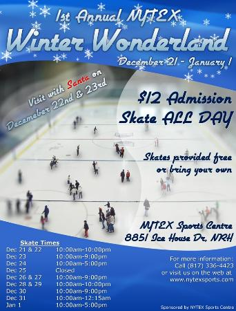 NYTEX Sports Centre: Our 1st Annual Winter Wonderland Event
