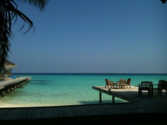 Kuramathi Island Resort: vista dal diving