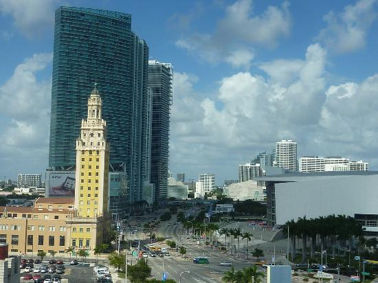 Holiday Inn Port of Miami - Downtown: view from our room window