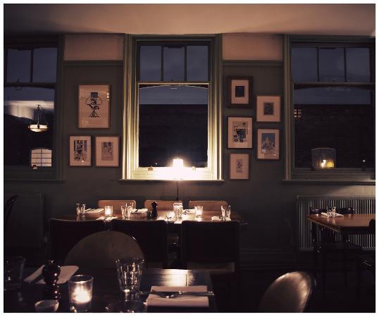 Restaurant at The Royal Oak: Dining room