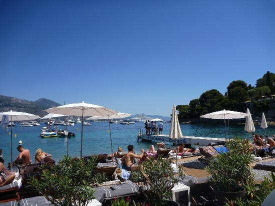 Plage Restaurant Paloma Beach : view from lunch