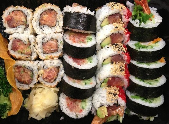 Kaizen Sushi Bar and Restaurant : Makis a la carte