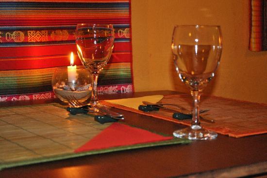 Patio Verde : las mesas