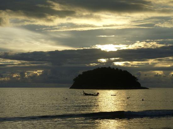 Kata Beach: the beach