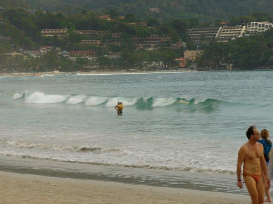 หาดกะตะ: the beach