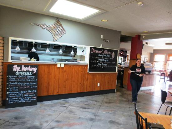 The Landing Restaurant Bar Menu In Ackland