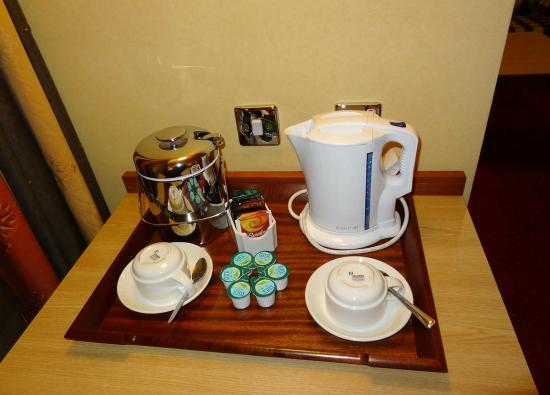 Clayton Hotel Manchester Airport: In-room coffee