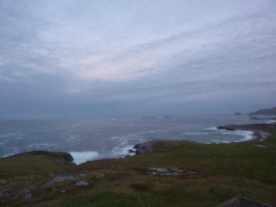 2nd view from Malin Head - small islands / rocks to the north Nov 2012
