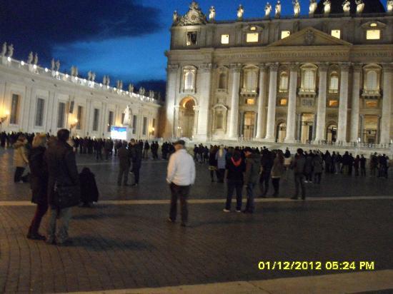 Vatikanstaten, Italien: piazza san pietro