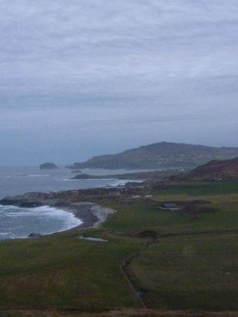 View from Malin Head before sunset, Nov 2012
