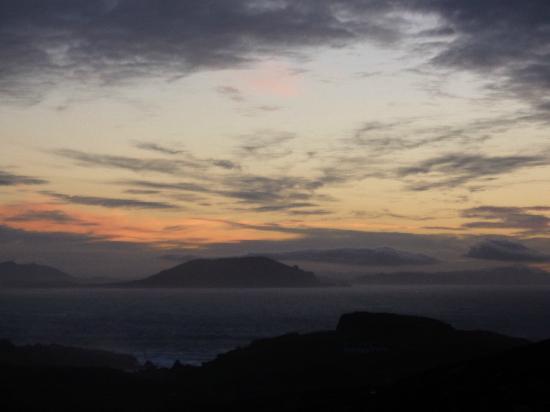 Sunset View from Malin Head November 2012