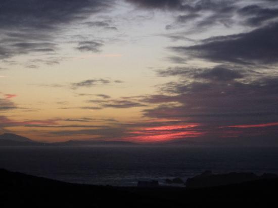 Sunset At Malin Head November 2012