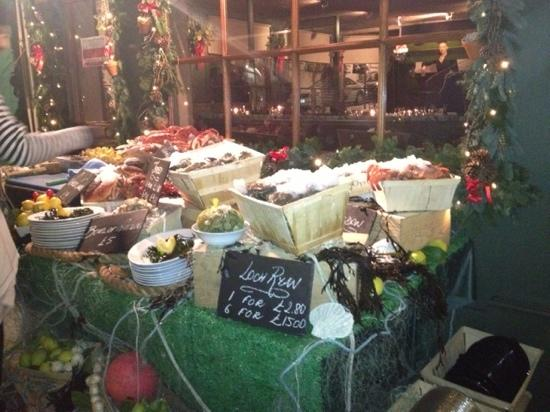 Le Boudin Blanc: last night in Mayfair at Boudin Blanc excellent