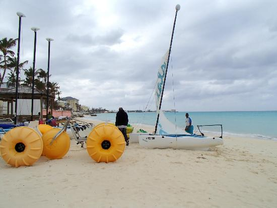 Sandals Royal Bahamian Spa Resort & Offshore Island: Windsurfing
