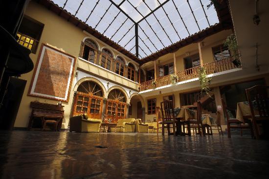 BEST WESTERN Los Andes De America: Lobby BW Los Andes de América