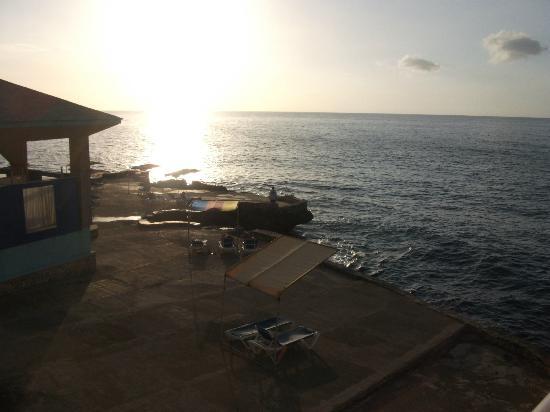 Samsara Cliffs Resort: view from my room