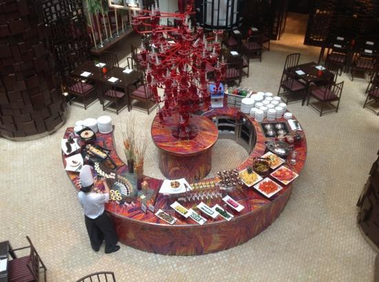 Sheraton Imperial Kuala Lumpur Hotel: amazing buffet - dessert 