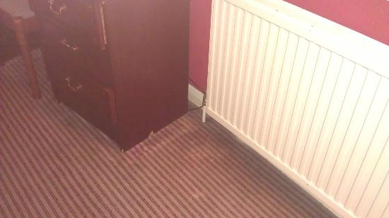 Comfort Inn Birmingham: Tired rooms - faded carpets