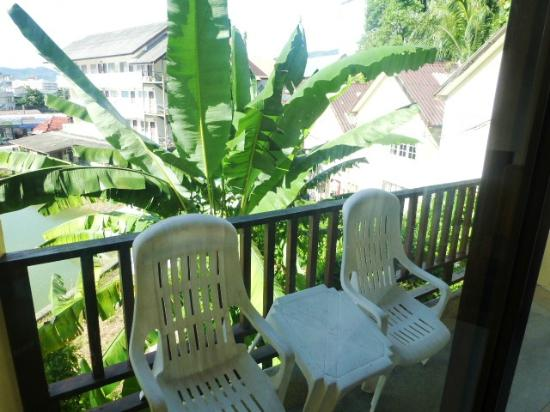 Club Bamboo Boutique Resort and Spa: balcony