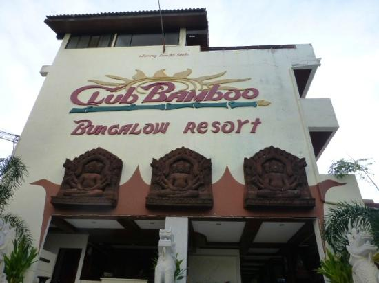 ‪‪Club Bamboo Boutique Resort and Spa‬: from outside‬