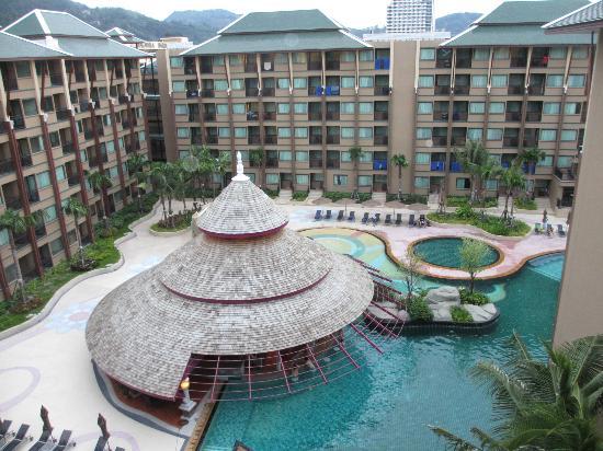 Novotel Phuket Vintage Park: Superior Room Balcony View