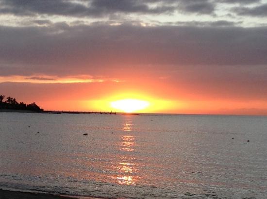 Grand Bahia Principe La Romana: Coucher de soleil au Gran Bahia Principe La Romana