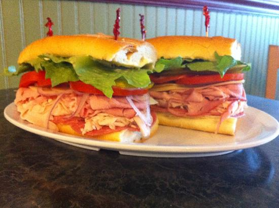 Corkscrew Deli: Try the Dagwood its the BEST!
