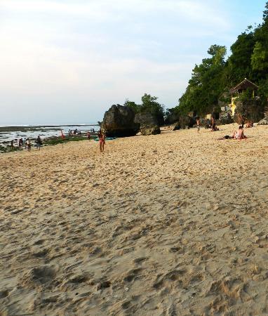 Padang Padang Beach: bronzette