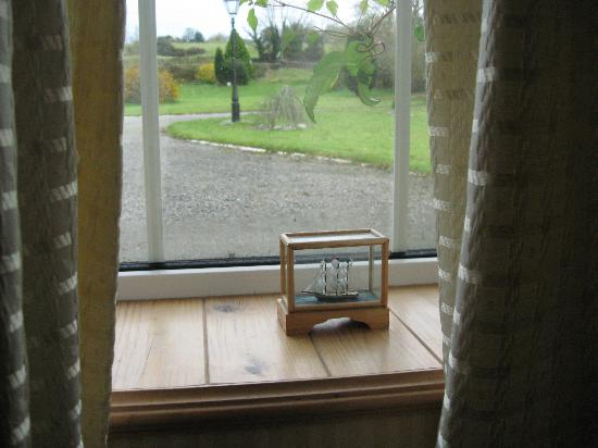 "Ballaghmore, Irlandia: ""tiny ship in a box in the window"" view"