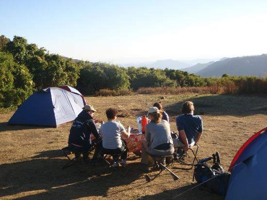 Simien Mountains National Park: Sankaber camp