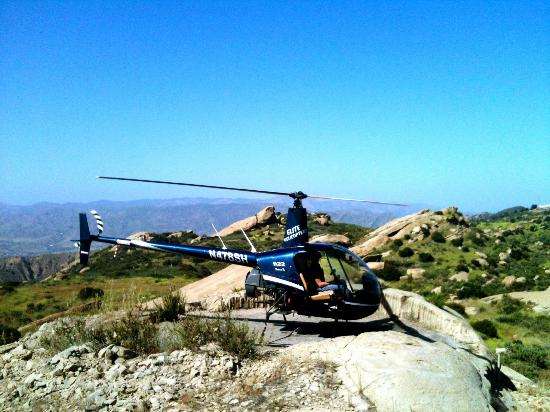 Off Airport with 8SH Picture of Elite Helicopter Tours Los