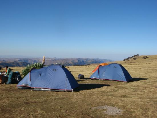 Simien Mountains National Park: Geech camp