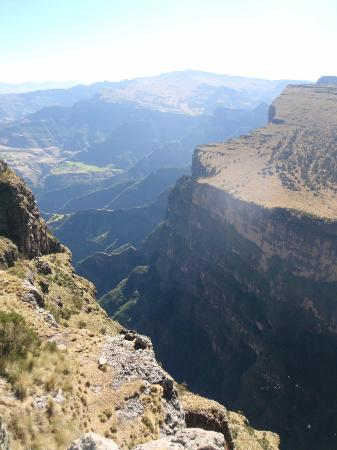 Simien Mountains National Park: Walking from Imet Gogo to Chenek