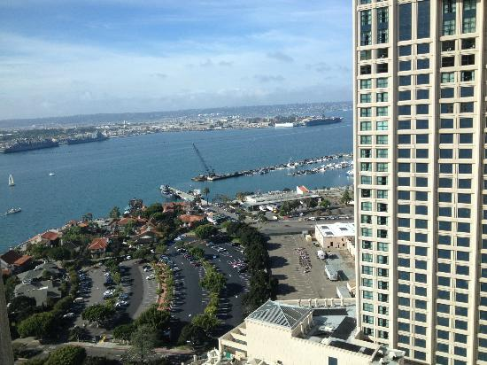 Manchester Grand Hyatt San Diego: View to the right from #2502