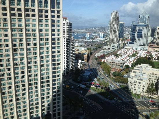 Manchester Grand Hyatt San Diego: View to the left from #2502