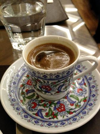 Neorion Hotel: Turkist Coffee at Breakfast