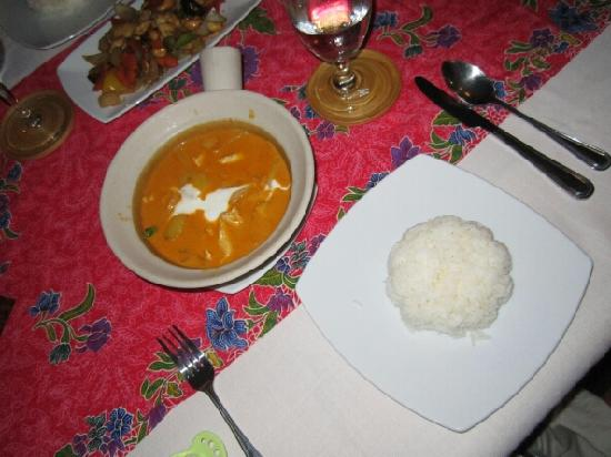 Baan Taranya Resort: dinner - was good